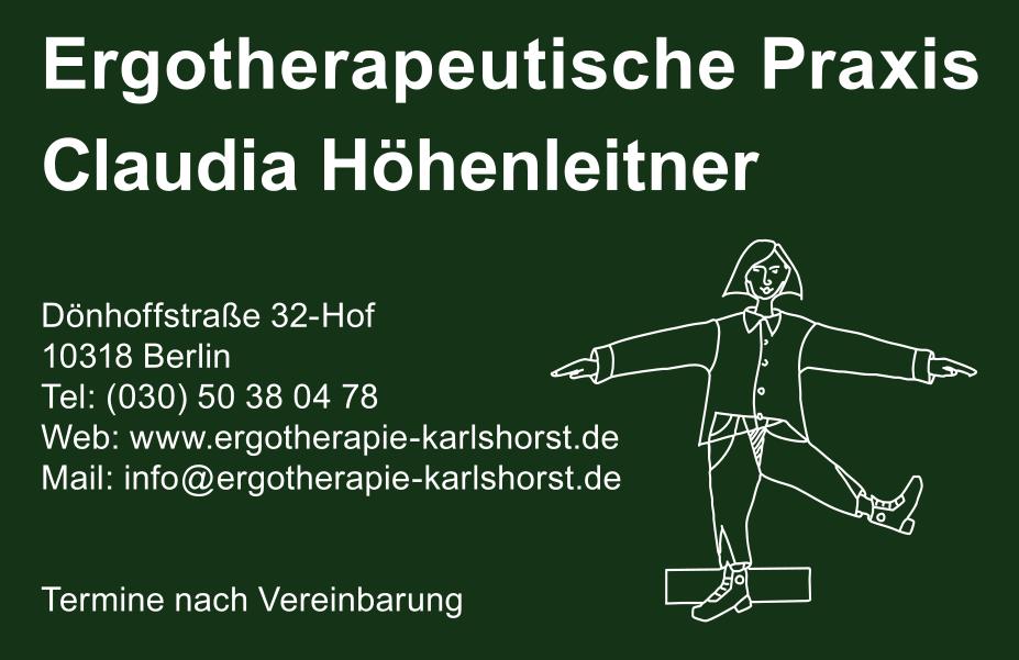 Ergotherapeutische Praxis Claudia Hã Henleitner In Berlin
